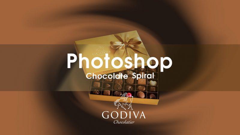 Photoshop CC 簡単にチョコレートの背景を作るチュートリアル
