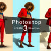 Photoshop 簡単な影の作り方3パターン + リアルな影など